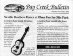 Bay Creek Bulletin